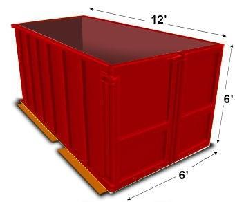 20-yard disposal bin